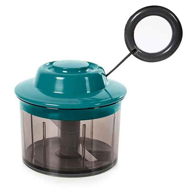 Processador de Alimentos Manual Verde - Prana PG147