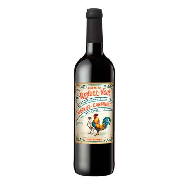 Vinho Premier Rendez-Vous Merlot/Cabernet 750ml - Premier Rendez-Vous