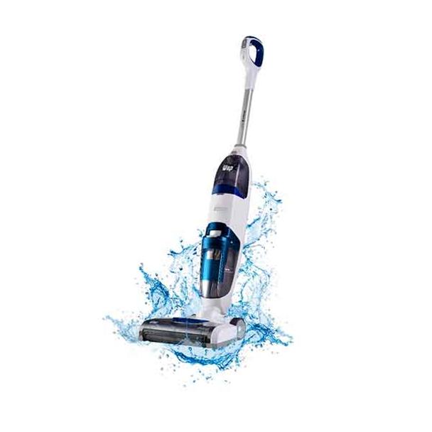 Extratora e Limpadora de Piso Vertical Wap Floor Cleaner Mob Branco/Azul Bivolt...
