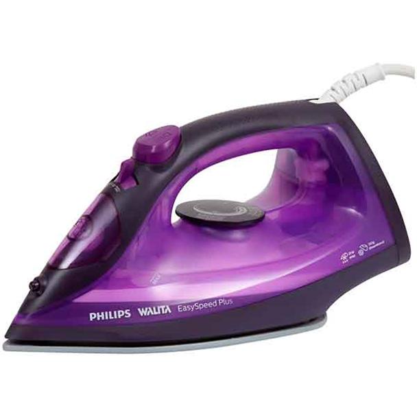 Ferro a Vapor Philips Walita EasySpeed Plus Roxo 110V RI2147