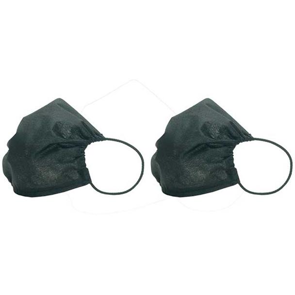 Máscara Mood Uso Social Compartimento para Filtro - 2 Unidades Preto MSCX02/2