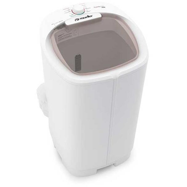 Lavadora de Roupas Mueller Family Lite Semiautomática Branca 10Kg 110V 600055019