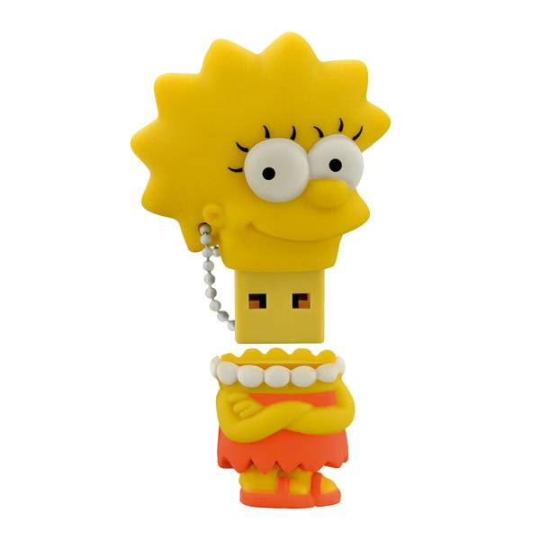 Pen Drive Multilaser Simpsons - Lisa -  8GB PD072