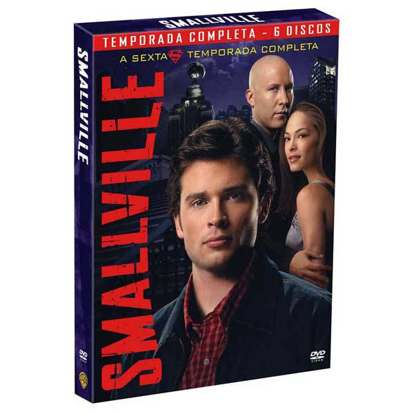 DVD Box - Smallville - 6ª Temporada - Warner Home Vídeo 7892110051835