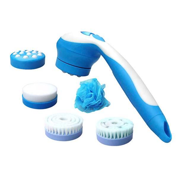 Massageador Complete Bath - Azul/Branco - Relax Medic RM-MB0719