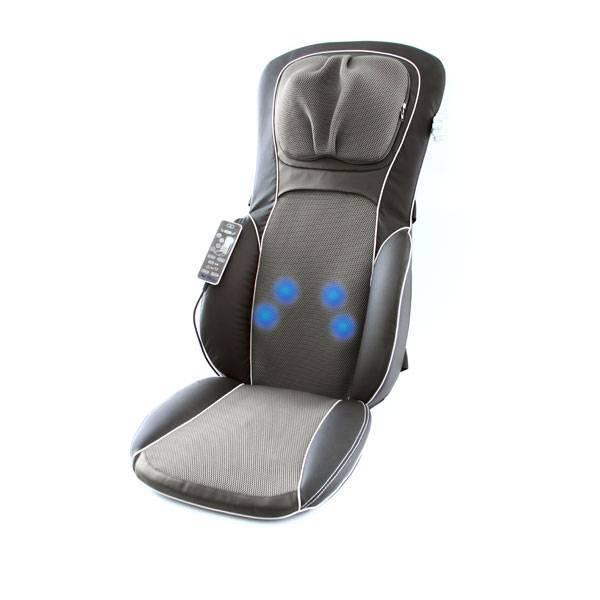 Assento Massageador Relax Medic Neck & Back Shiatsu Seat RM-AS8187A