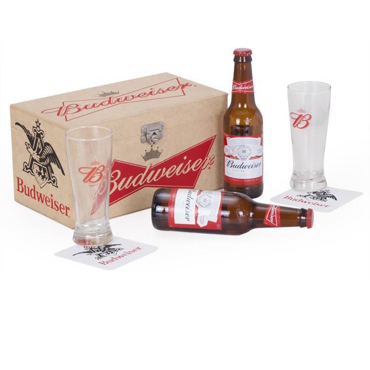 Kit Cerveja BudWeiser Quality Import 17644