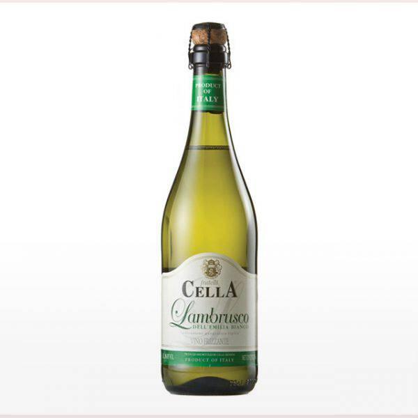 Vinho La Pastina Cella Lambrusco Bianco Amabile Branco 750ml