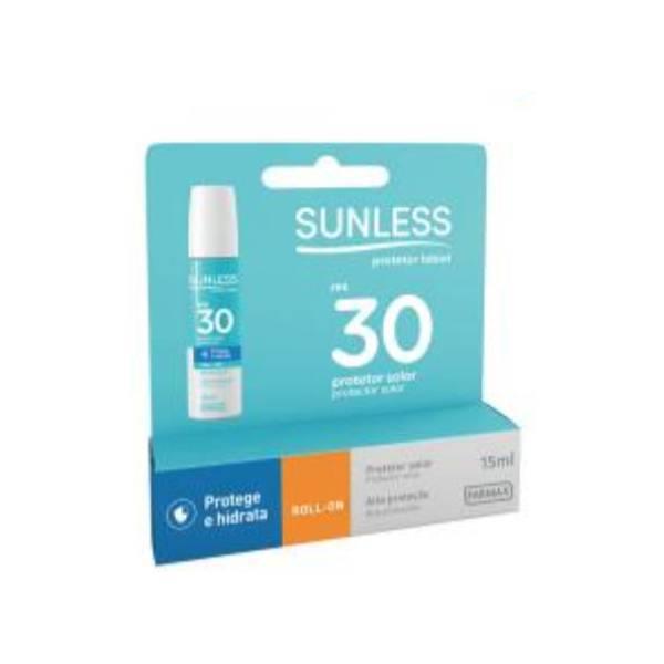 Protetor Labial Sunless 15ml F30  - Farmax 7896902201682