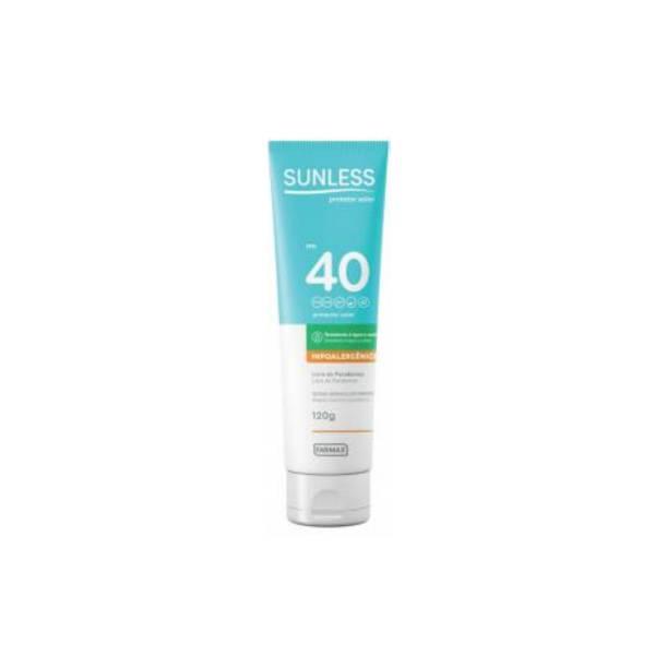 Protetor Solar Farmax Sunless FPS40 120g 7896902209053