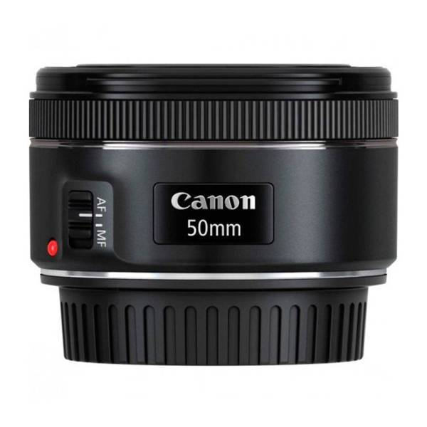 Lente Objetiva Ef 50Mm F/1.8 Stm c/Motor Auto Foco Canon 7898576033514
