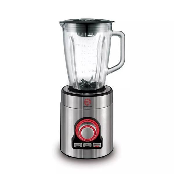 Liquidificador Masterchef Premium Copo Vidro Multivelocidade 700W Inox 1,5L...