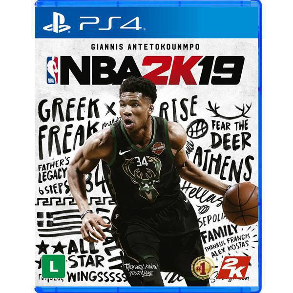 Jogo: NBA 2K 19 - PS4 - Take Two 0710425570582