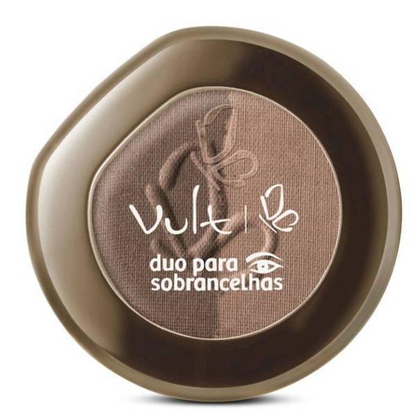 Duo de Sombra para Sobrancelhas Bege/Marrom - Vult