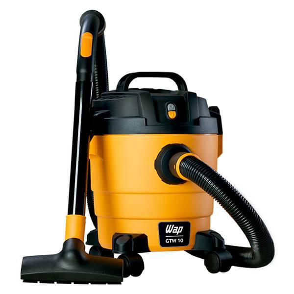 Aspirador de Pó e Água Wap GTW 10 1400W Preto/Amarelo 10L 110V FW005705