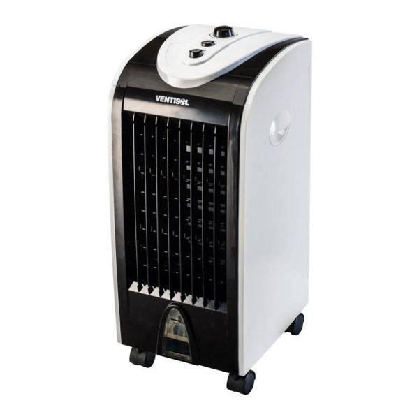 Climatizador de Ar Ventisol Portátil Premium 75W Branco/Preto 4L 220V CLM-02