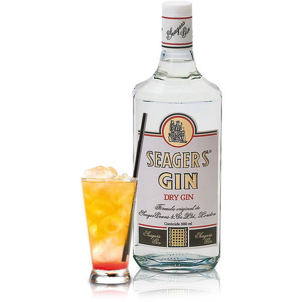 Gin Seager's 980ml - Seagers 7891121154009