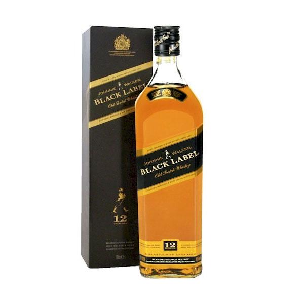 Whisky Johnnie Walker Black Label 750ml - Johnnie Walker 5000267023601