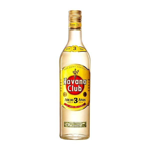 Rum Havana Club 3 Anos 750ml - Pernod Ricard 8501110080811