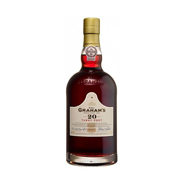 Vinho Graham's 20 Years Old Tawny 750ml - Graham's 5010867410329