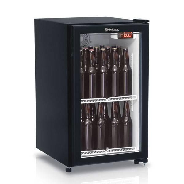 Refrigerador para Bebidas Cervejeira Gelopar Frost Free Vertical Preto 112L...