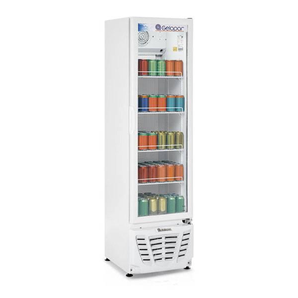 Refrigerador Vertical Gelopar Conveniência Turmalina Branco 228L 220V GPTU-230