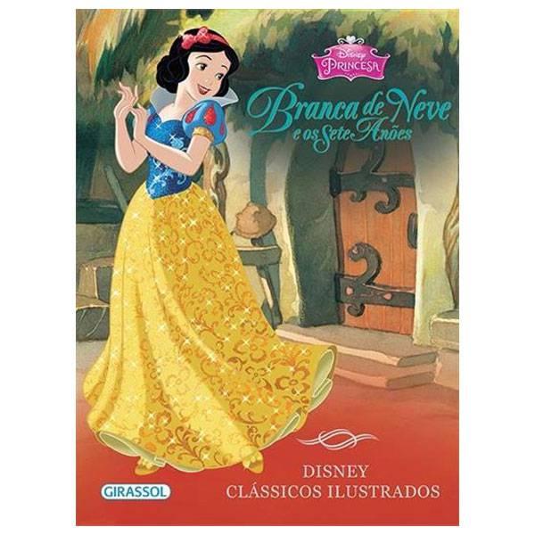 Livro: Branca de Neve e Os Sete Anões Editora Girassol 9788539416394