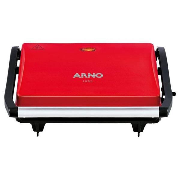 Grill Arno Compact Uno 760W Vermelho 110V GUNO