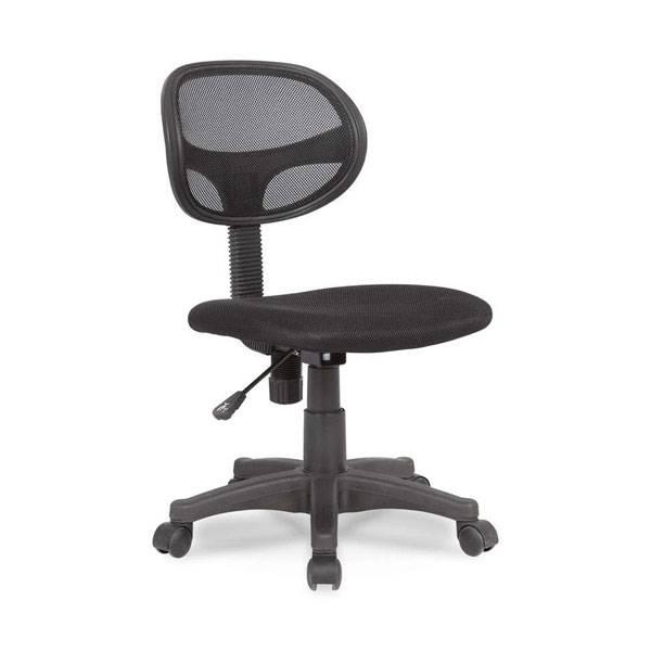 Cadeira de Escritório Mobly Secretária Canadá Preta 67153