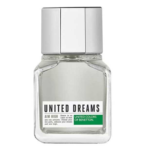 Perfume United Dreams Aim High Marculino 60ml - Benetton 8433982002274
