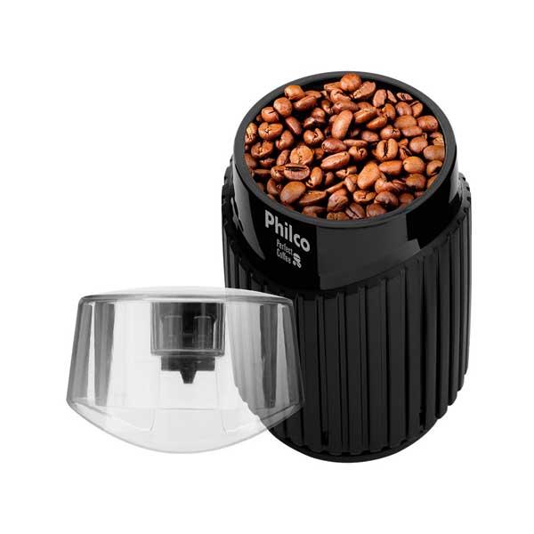 Moedor de Café Philco Perfect Coffee 160W Preto 220V