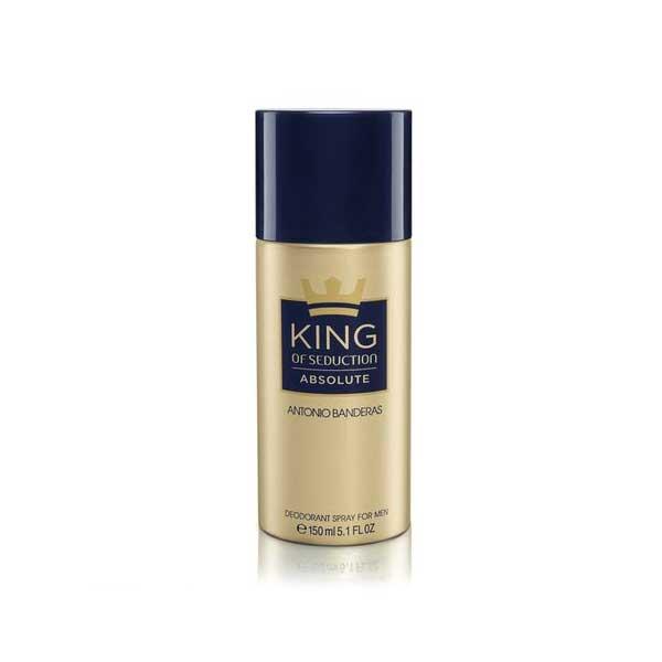 Desodorante Spray King of Seduction Absolute 150ml Antonio Banderas