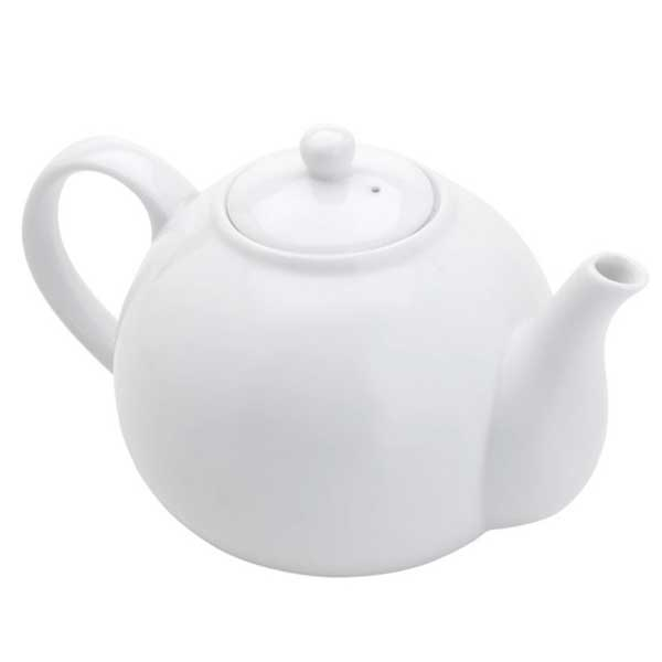 Chaleira Bon Gourmet Porcelana Branco 1,2L 27371