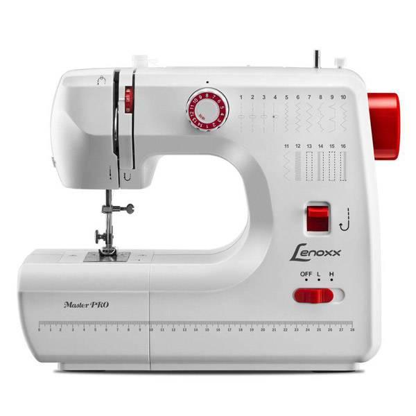 Máquina de Costura Lenoxx Master Pro 24W Branca Bivolt PSM103