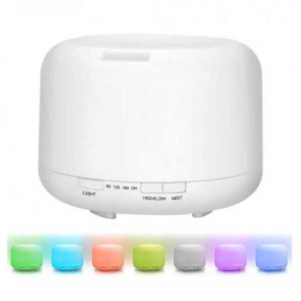 Umidificador de Ar / Luminária LED Relax Medic Multi Lamp LED 7 Cores Bivolt...