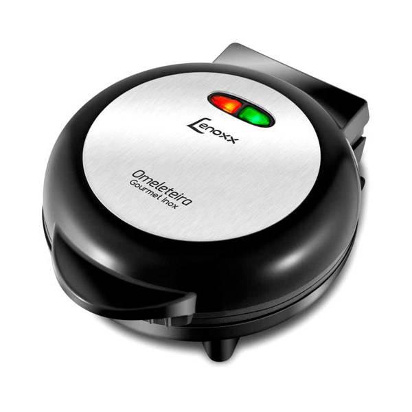 Omeleteira Lenoxx Gourmet Inox 750W Preta 220V POM131