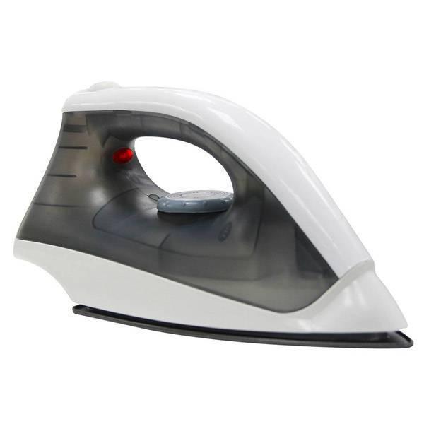 Ferro a Seco Lenoxx Pratic 1000W Cinza e Branco 220V PFF601