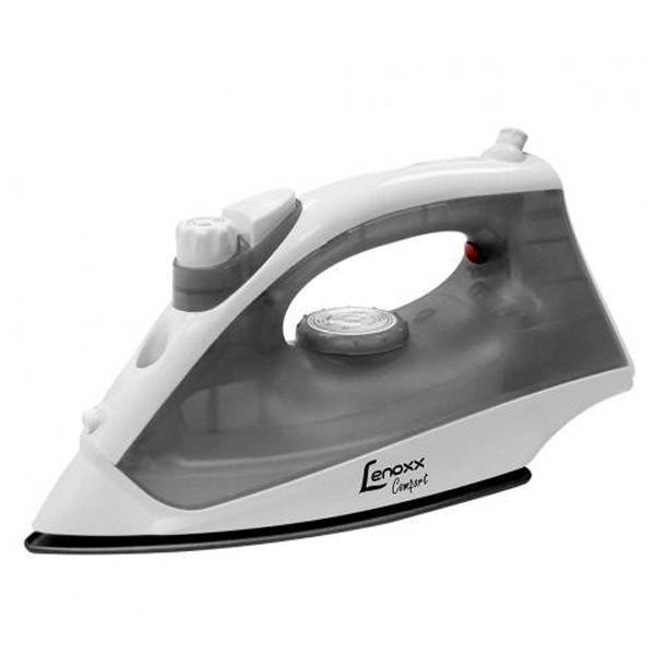 Ferro a Vapor Lenoxx Comfort 1000W Cinza e Branco 110V PFF653