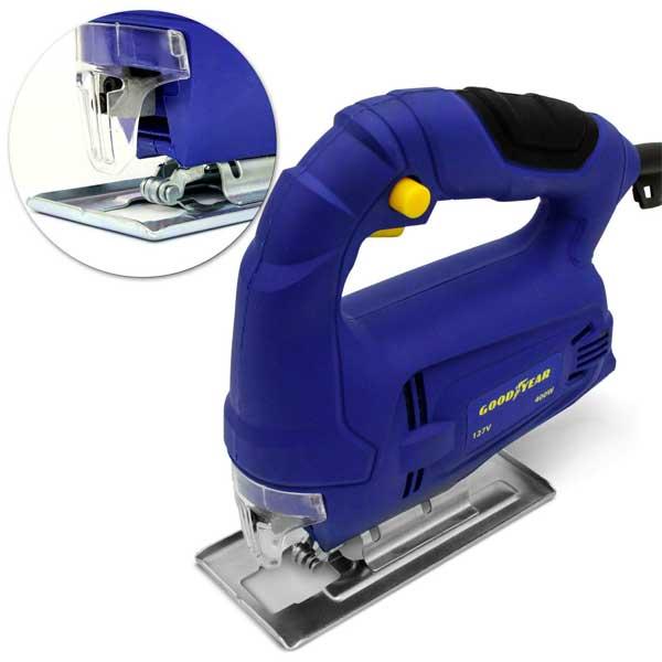 Serra Tico-Tico Goodyear 1 Vel. 3000GPM 400W Azul 220V GYJS100203