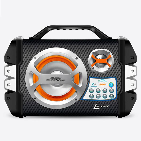 Caixa Amplificada Lenoxx Multiuso 50W Bivolt CA303