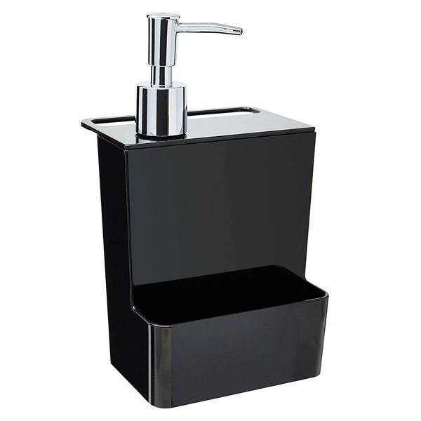 Dispenser Multi Coza Glass Preto 600ml 20719/0008