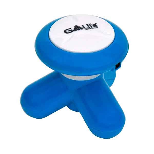Mini Massageador G-Life Portátil Azul NL7000