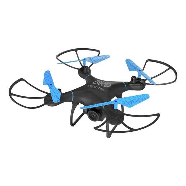 Drone Multilaser Bird Alcance 80m Preto/Azul ES255