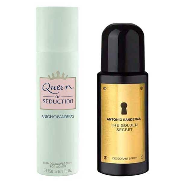 Desodorante Spray The Golden Secret 150ml - Antonio Banderas + Desodorante...