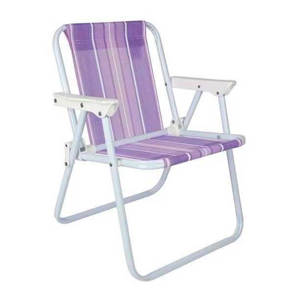 Cadeira de Praia Mor Alta Infantil Roxo 30kg 002009|6007