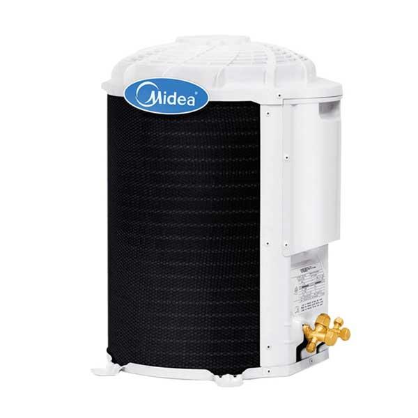 Ar Condicionado Split Midea Quente/Frio Unidade Externa Condensador Branco 9000...