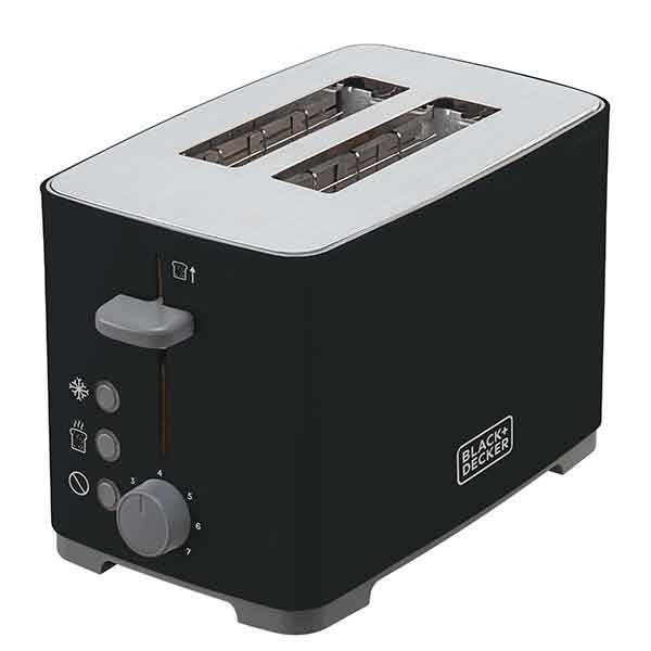 Tostador Black & Decker 800W Preta 110V TO800