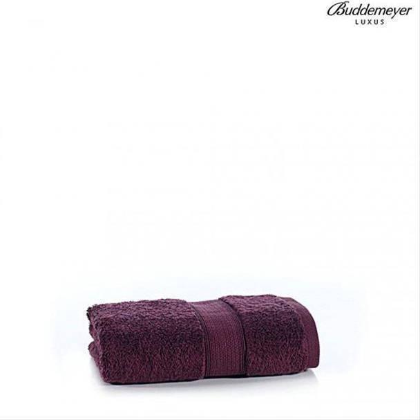 Toalha de Rosto Buddemeyer Luxus América 0,48 x 0,90 m Bordô 99600-1611