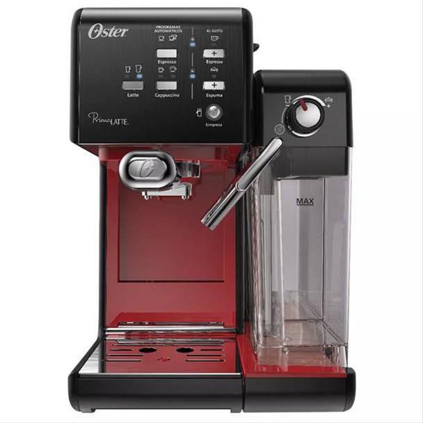 Cafeteira Espresso Oster PrimaLatte 1170W Red 220V BVSTEM6701B-057
