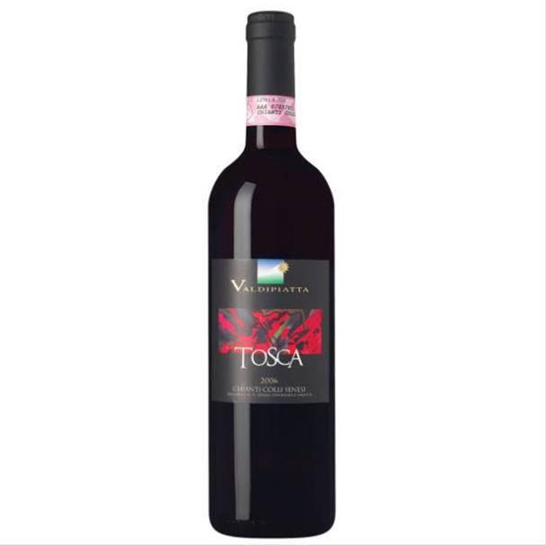 Vinho Tosca Chianti Colli Senesi 750ml - Tenuta Valdipiatta